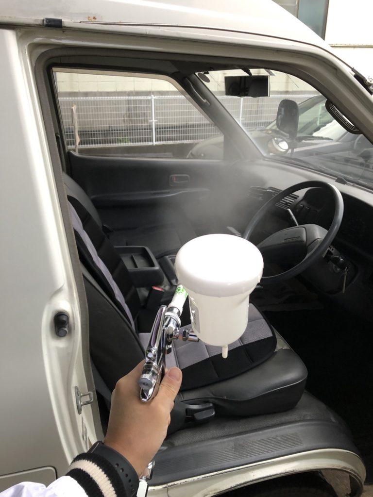 朝田モータース様 車両